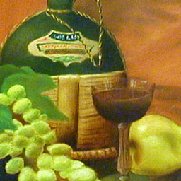 Detail of a still life